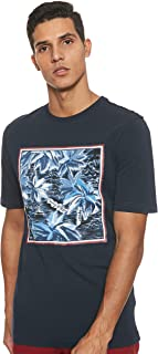 Tommy Hilfiger Men's Print Applique Relaxed Fit T-Shirt