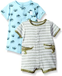 Carter's Baby Boys' 2-Pack Snap-up Romper