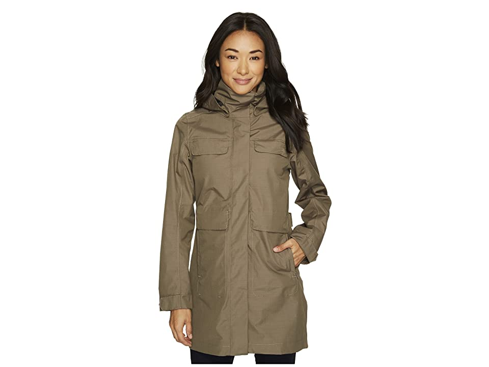 NAU Quintessentshell Trench Coat (Vetiver) Women