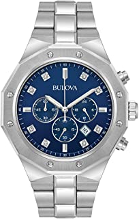 Bulova Mens quadrante cronografo - 96D138
