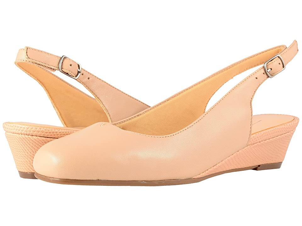 Trotters Lenore (Nude Soft Leather) Women