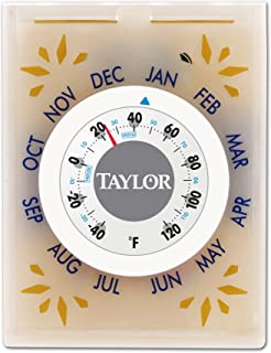 Taylor Food Fresh Refrigerator Thermometer and Baking Soda Holder