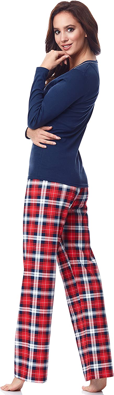 Pijamas Damas Oto/ño Invierno Conjunto de Pijamas Nocturnos Bata de Dos Piezas de Manga Larga 2020