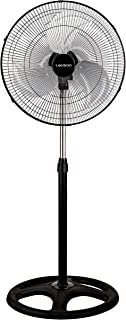 Lauson AFF108 Ventilador 3 en 1. Ventilador Industrial de 45 cm de Diametro. 3 Velocidades y 3 Aspas Especiales para reducir el ruido. 3 Modos de Funcionamiento: Pie, Pared, Suelo