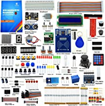 Adeept RFID Starter Kit for Raspberry Pi 3, 2 Model B/B+, Stepper Motor, ADXL345, 40-pin GPIO Extension Board, with C and Python Code, Beginner/Learning Kit with 140 Pages Printed Guidebook