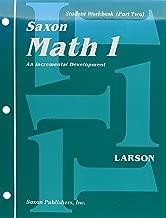 Saxon Math 1: An Incremental Development : Student Workbook (Part Two)