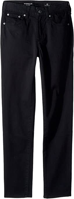 Slim Straight Sueded Twill Pants (Big Kids)