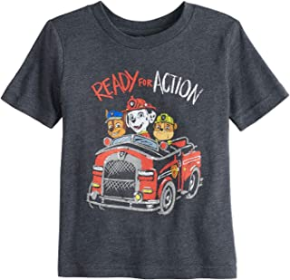 Jumping Beans Toddler Boys 2T-5T Paw Patrol Ready for Action Graphic Tee