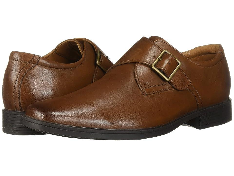Clarks Tilden Style (Dark Tan Leather) Men