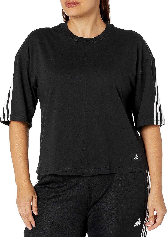 adidas Women's Sportwear Future Fresno Mall OFFicial 3-Stripes Icons Tee