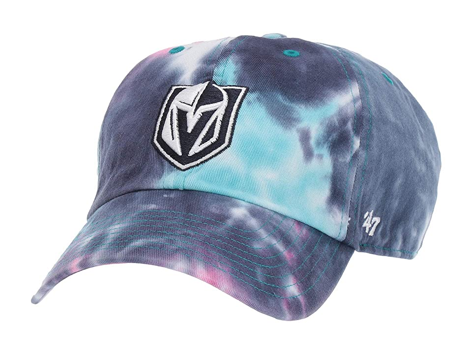 Image of '47 LV Golden Knights Marbled 47 Clean Up (Magenta) Baseball Caps