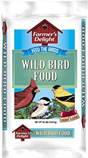 Wagner's 53003 Farmer's Delight Wild Bird Food, With Cherry Flavor, 20-Pound Bag
