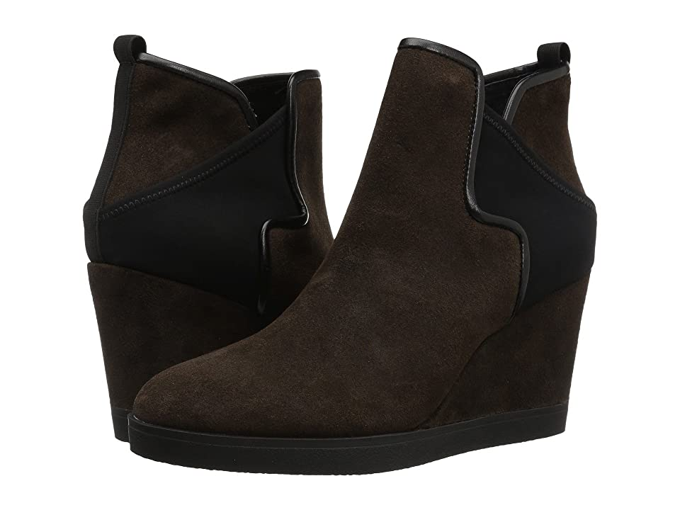 Donald J Pliner Luluu (Dark Brown Brushed Suede) Women