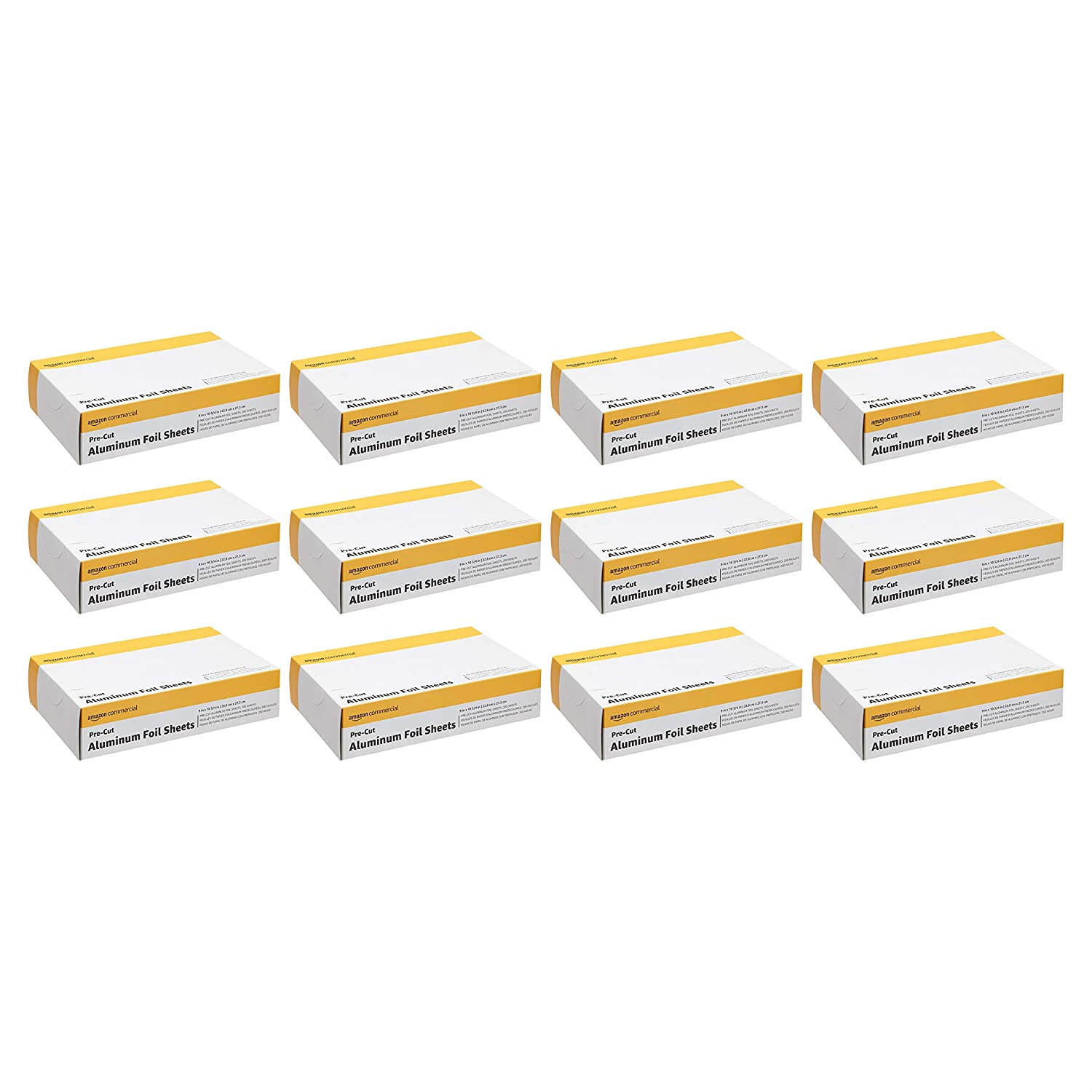 AmazonCommercial Pre-Cut Fresno Mall Aluminum Foil Sheets NEW before selling ☆ 12 X 10-3 4