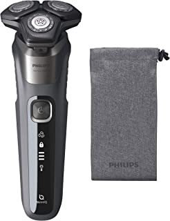 Philips S5587/70 Wet and Dry Electric Shaver 5000 Series, Grey - Pack of 1