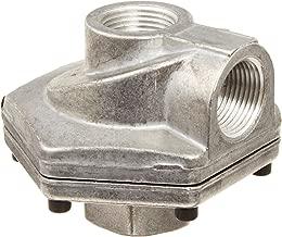 Parker 0R50B Die Cast Aluminum Quick Exhaust Valve with Nitrile Static Seal, 1/2