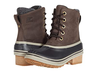 SOREL Slimpack III Lace (Blackened Brown) Women