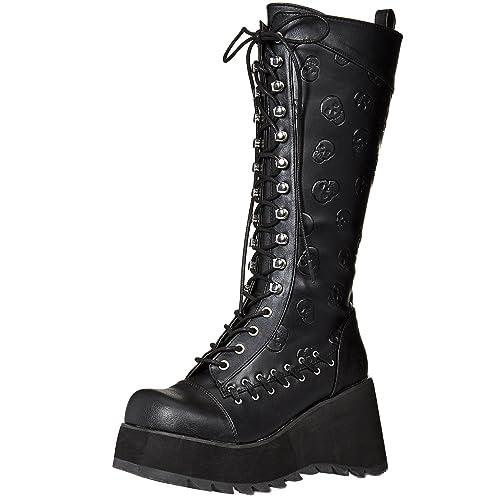 b8f2ba35efd Women's Skull Boots: Amazon.com