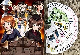 Koshizu Anime Playing Cards (Poker Deck 54 Cards All Different) Girls UND Panzer Manga Anime