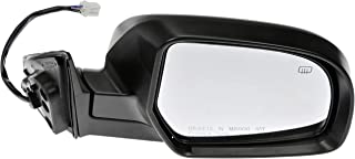 Dorman 955-2296 Passenger Side Power Door Mirror - Heated/Folding for Select Subaru Models, Black