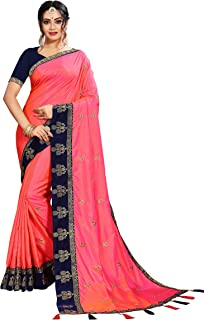 4cd9934042c53e Pinks Women's Sarees: Buy Pinks Women's Sarees online at best prices ...