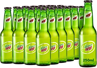 Mountain Dew Carbonated Soft Drink, Glass Bottle, 250 ml x 24