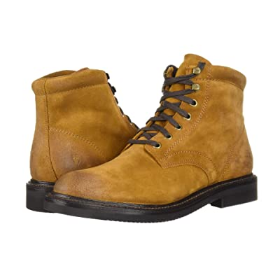 Frye Gordon Lace-Up (Wheat Oiled Suede) Men