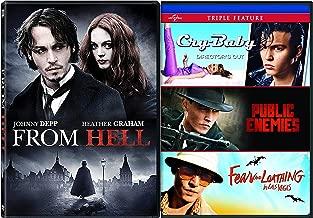 Who's Johhny? Cry From Hell Baby Jack Ripper / Depp Fear & Loathing in Las Vegas + Public Enemies 4 Movie Actors Pack