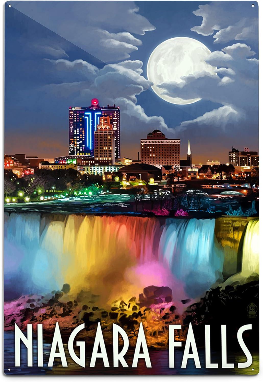 Niagara Falls Print Western New York Wall Art Winter Photography