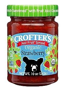 Crofter's Organic Strawberry Fruit Spread, 10 Oz