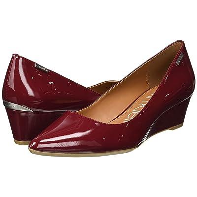 Calvin Klein Germina (Red Rock Patent) Women