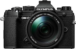 Olympus OM-D E-M5 Mark III Black Body with M.Zuiko Digital ED 14-150mm F4.0-5.6 II Black Lens Kit, V207091BU000