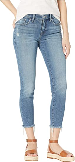 Ava Crop Jeans in Bear Lake Fray