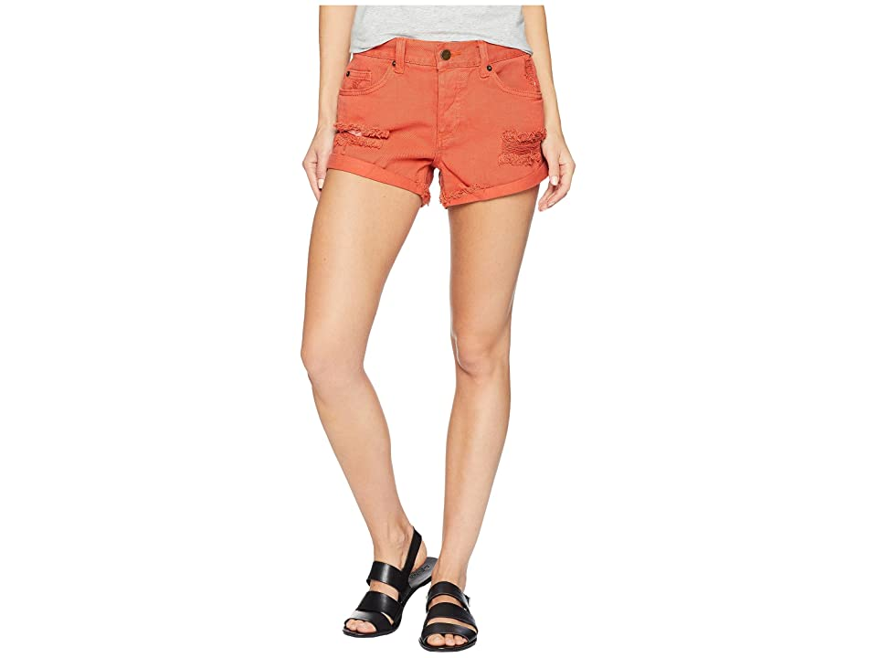 Amuse Society Crossroads Shorts (Picante) Women's Shorts, Red
