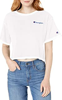 Champion Life Womens Crop Tee Short Sleeve T-Shirt - Multi