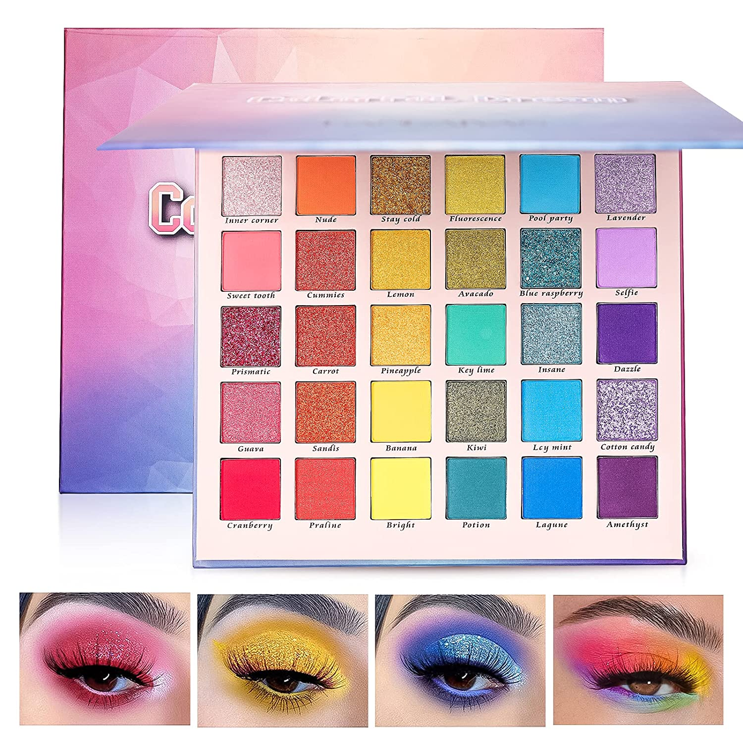 discount Eyeshadow Palette YOUNG VISION Eye Shadow High Sets Shipping included Pallete 30