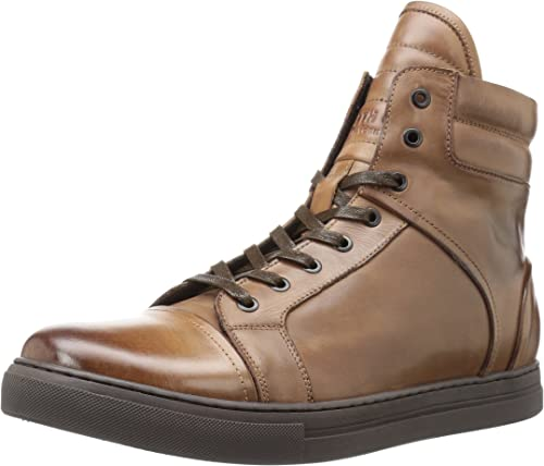 Kenneth Cole New York Hommes's DOUBLE HEADER chaussures, marron, 8 M US
