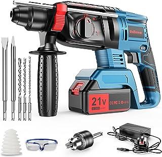 Sponsored Ad – Undreeem 21V Rotary Hammer Drill,3-in-1 Mode Brushless Impact Drill,Demolition Hammer Kit with 4.0Ah Batter...