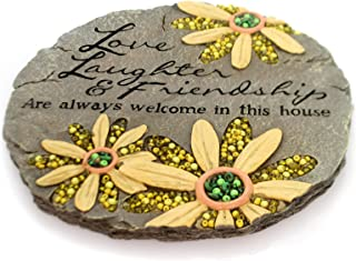 Carson Home Accents CHA10146 Beadworks Garden Stone Friendship (Set of 1)
