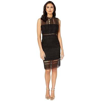Bardot Mariana Lace Dress (Black) Women