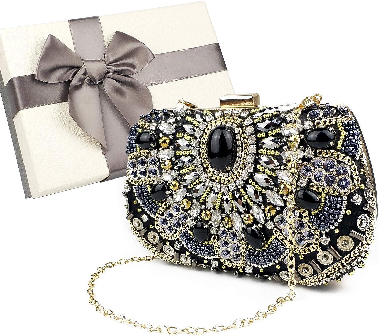 Womens Evening Clutch Bag Designer Evening Handbag,Lady Party Clutch Purse, Great Gift Choice
