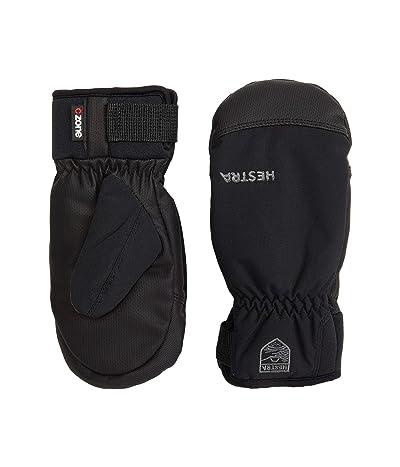 Hestra Ferox Primaloft Mitt (Toddler) (Black) Ski Gloves