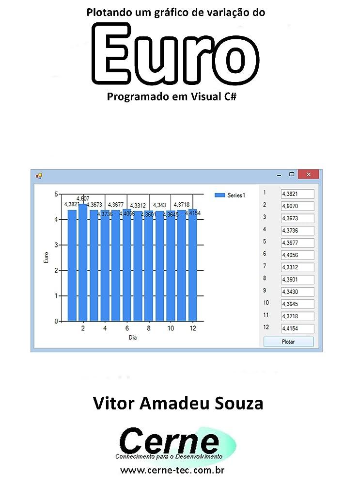 疑わしい高くゲインセイPlotando um gráfico de varia??o do Euro Programado em Visual C# (Portuguese Edition)