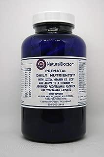 NaturalDoctor Prenatal Daily Nutrients, 180 Veg Caps