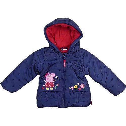 Character Peppa Pig Girls 1.5-7 Years Baseball Jacket Jumper Clothing
