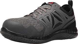 Reebok Work Men's Zprint Safety Toe Athletic Work Shoe, Dark Grey, 11 Wide