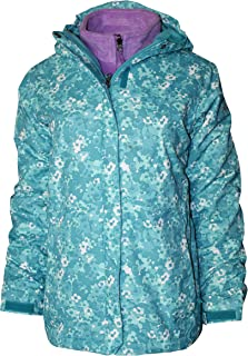 Columbia Youth Girls Arctic Trip II Interchange 3 in 1 Jacket Omni Heat