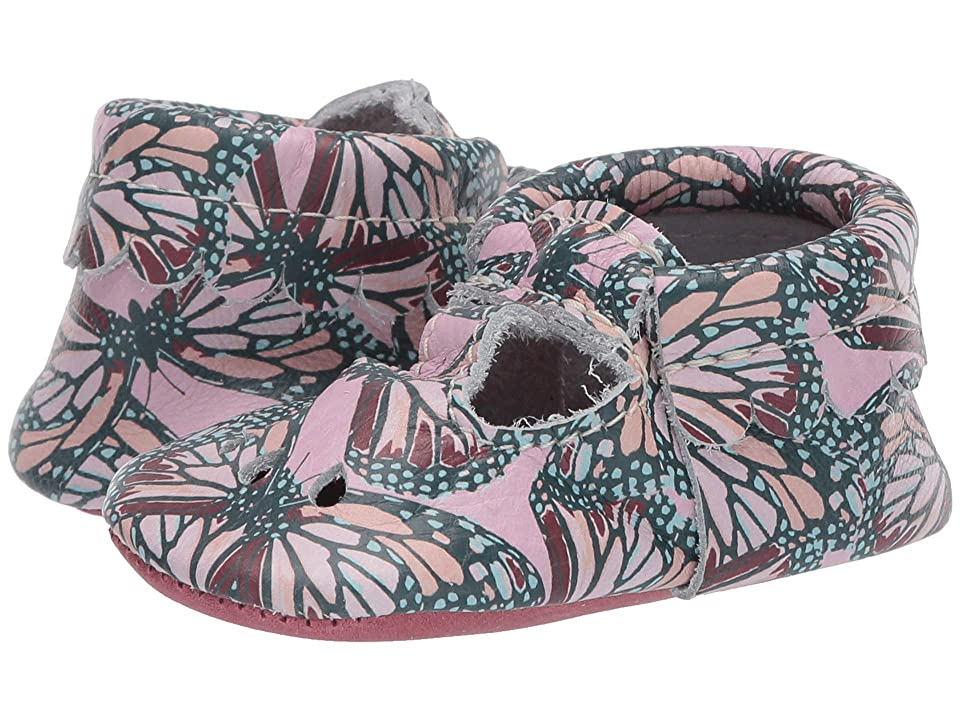 Freshly Picked Soft Sole Mary Jane Boho (Infant/Toddler) (Butterfly Wings) Girl