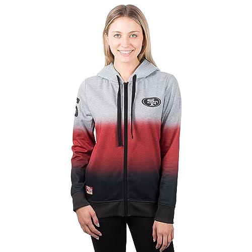 356d73df1cd ICER Brands NFL Women s Full Zip Hoodie Sweatshirt Hombre Jacket