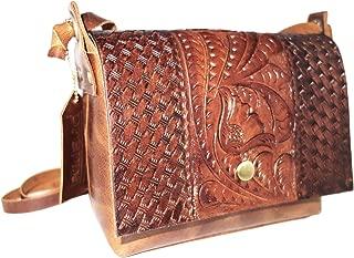 Genuine Leather Crossbody Bag for Women, Vintage Purse, Handmade Leather Bag